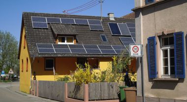 On some sunny days, solar power meets 35 percent of Germany's electricity needs. Photo by Till Westermayer/Flickr