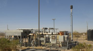 Methane escapes throughout various stages of the natural gas production chain and is at least 34 times more potent a greenhouse gas than carbon dioxide. Photo Credit: Gene Spesard/Flickr