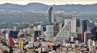 Mexico City skyline. Photo by Storkholm Photography/Flickr.