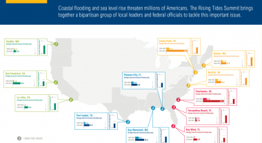 Shoreline counties are home to more than 123 million Americans, and account for nearly half the U.S. GDP. Image by WRI