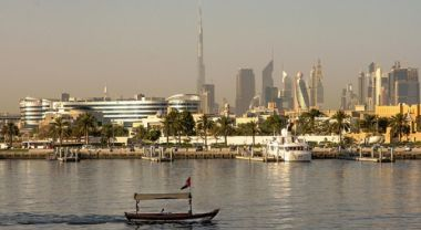 14 of the 33 countries most likely to be water-stressed in 2040 are in the Middle East. (Dubai, UAE) Photo by Jason Mrachina/Flickr.