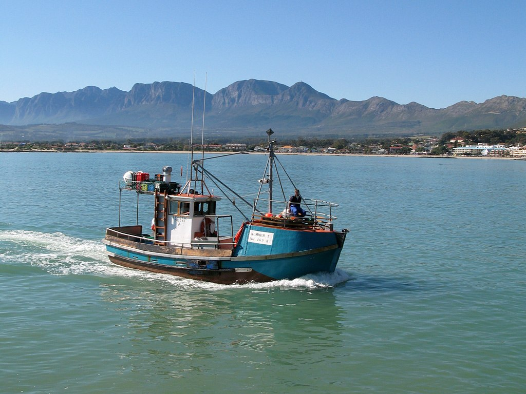 <p>Fishing boat in South Africa. Photo by coda/Wikimedia Commons</p>
