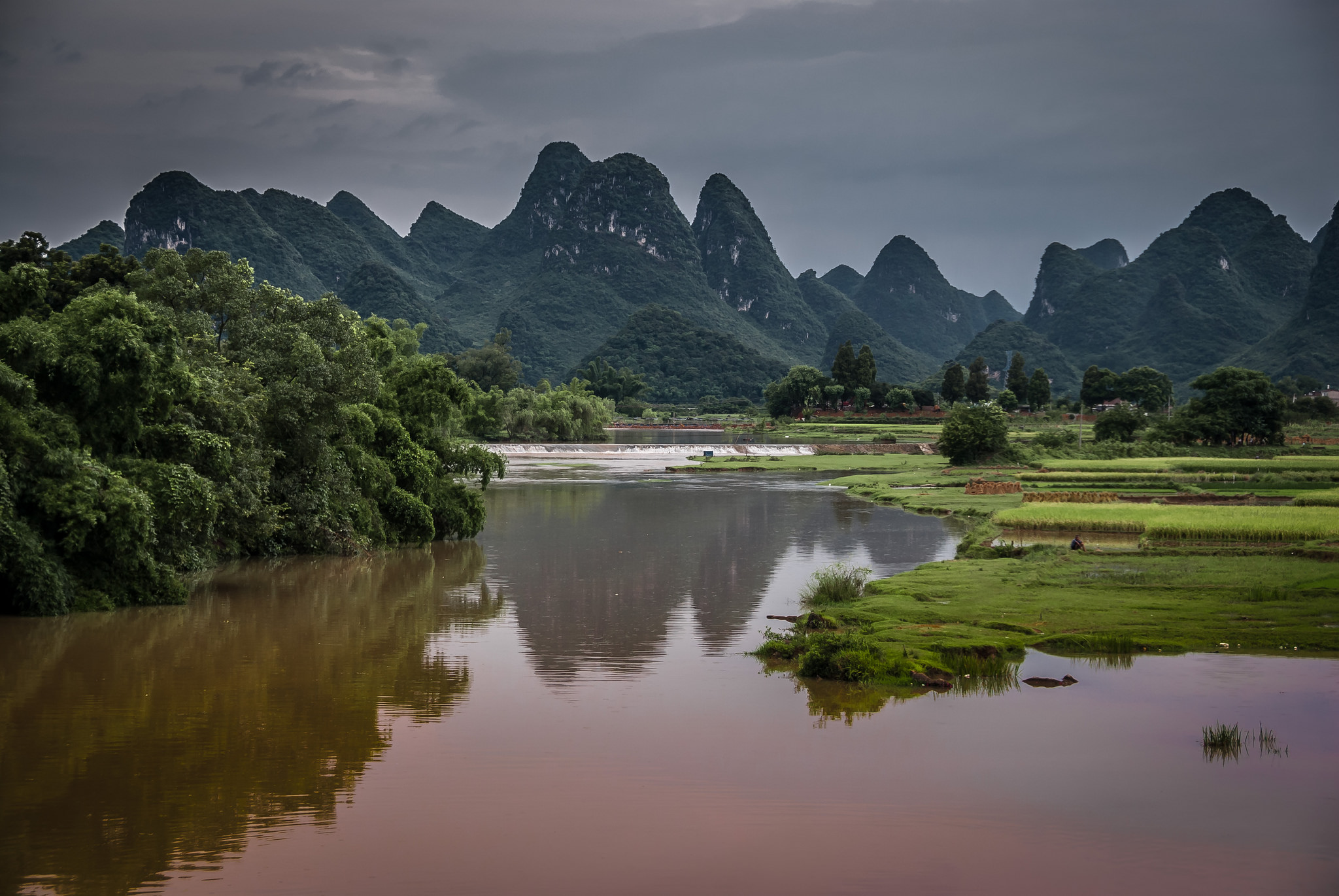 <p>The Li River in Guilin, China. Flickr/Bernd Thaler</p>