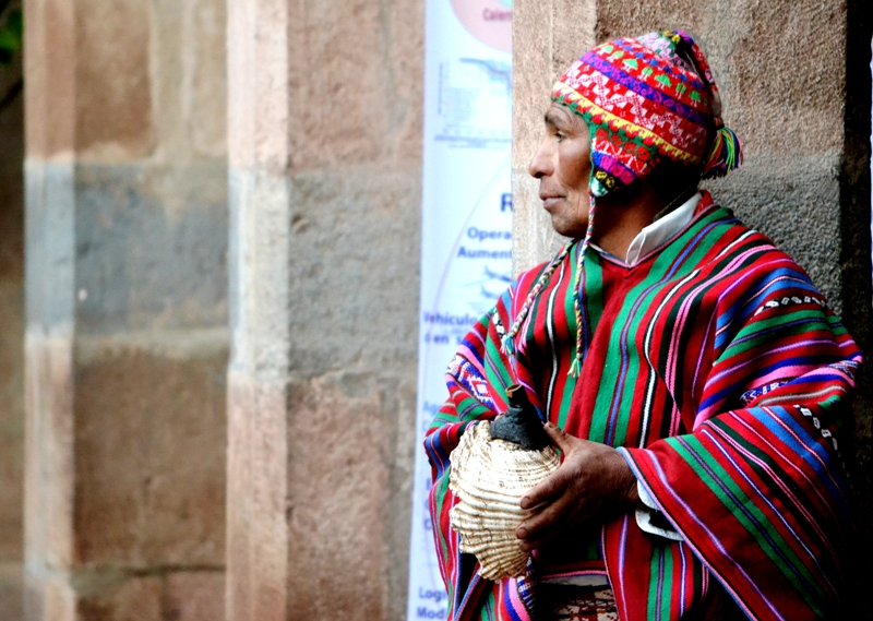 <p>Investments in climate-resilient development, such as sustainable development in Andean communities where glaciers are disappearing, are necessary. Flickr/World Mountain Forum</p>
