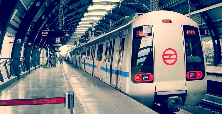 <p>Delhi Metro. Flickr/Sudhir Deshwal.</p>