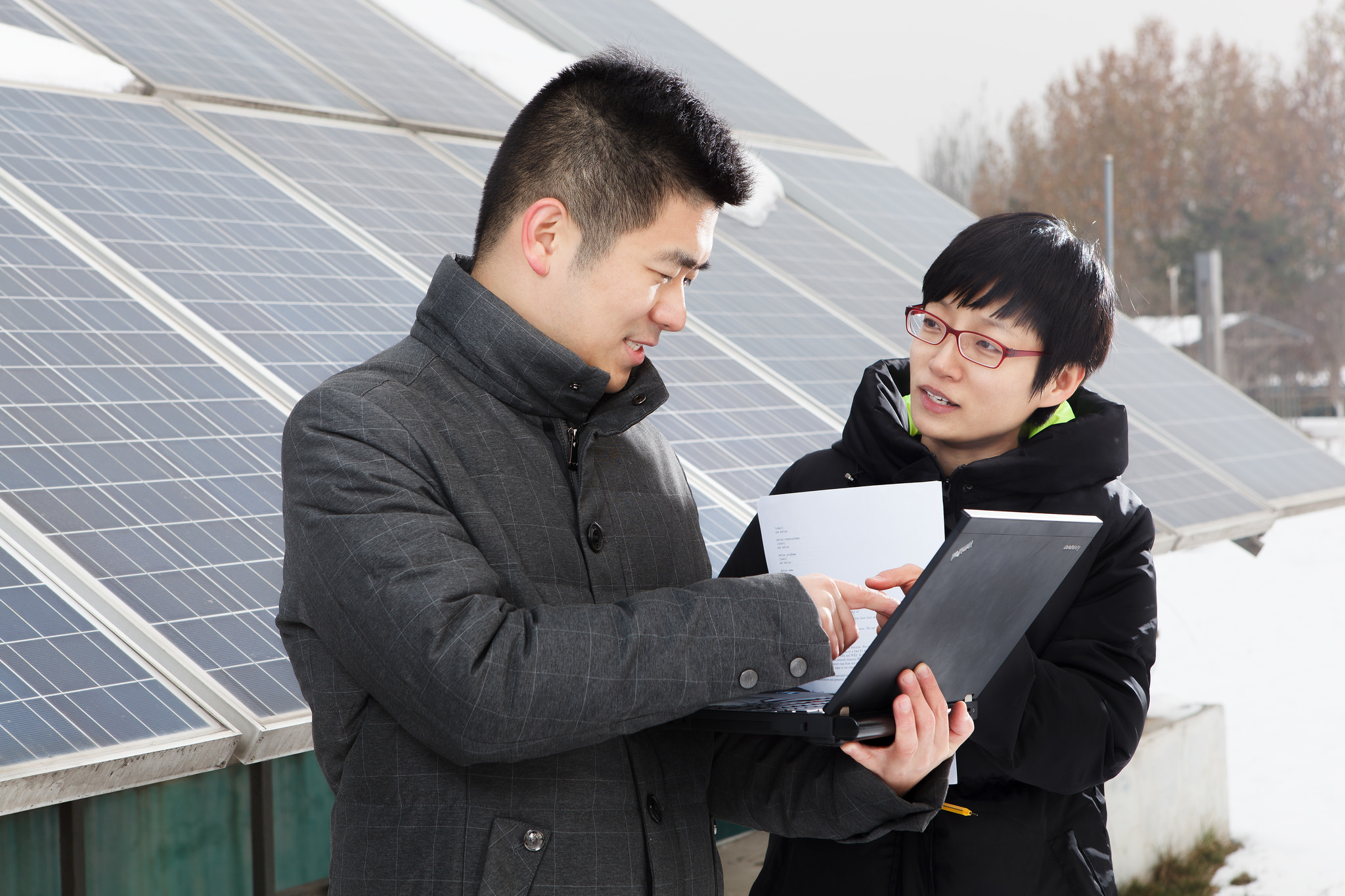 <p>Solar research conducted by IBM with China. Flickr/IBM Research</p>
