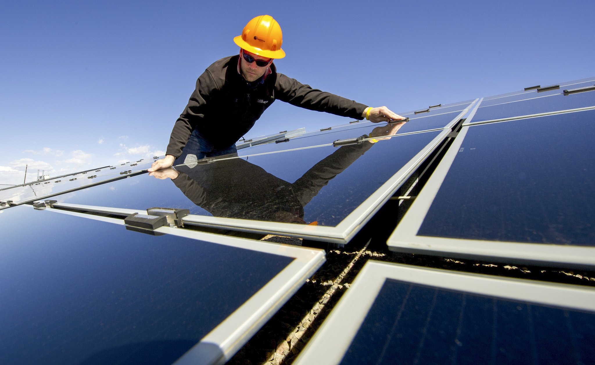 <p>Driving renewable energy installation is how many companies measure leadership. Flickr/IIP Photo Archive</p>