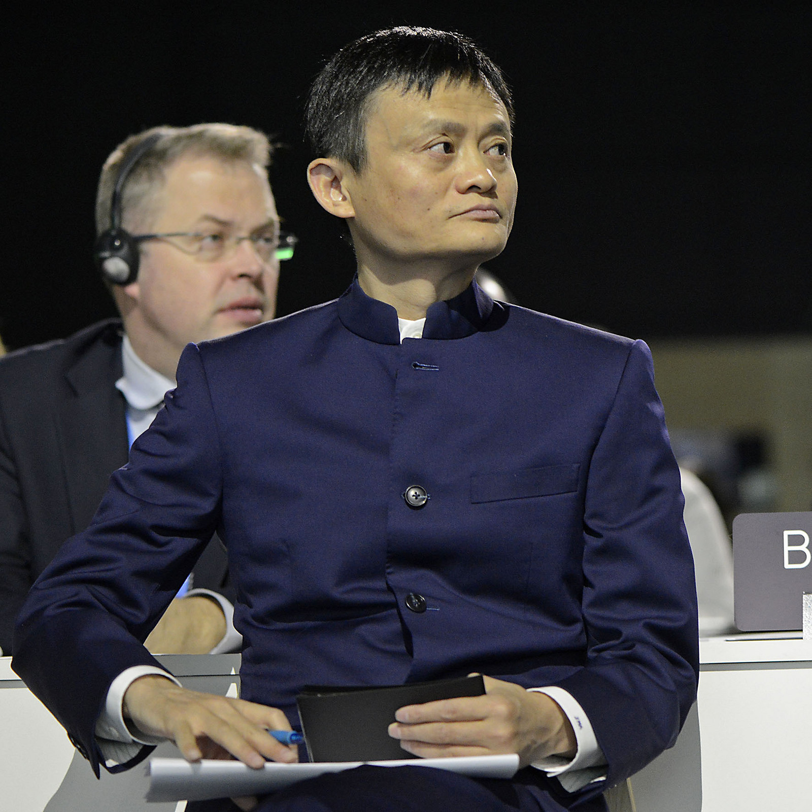 <p>Jack Ma, founder of Alibaba and investor in Breakthrough Energy Solutions. Photo by UNclimatechange/Flickr</p>