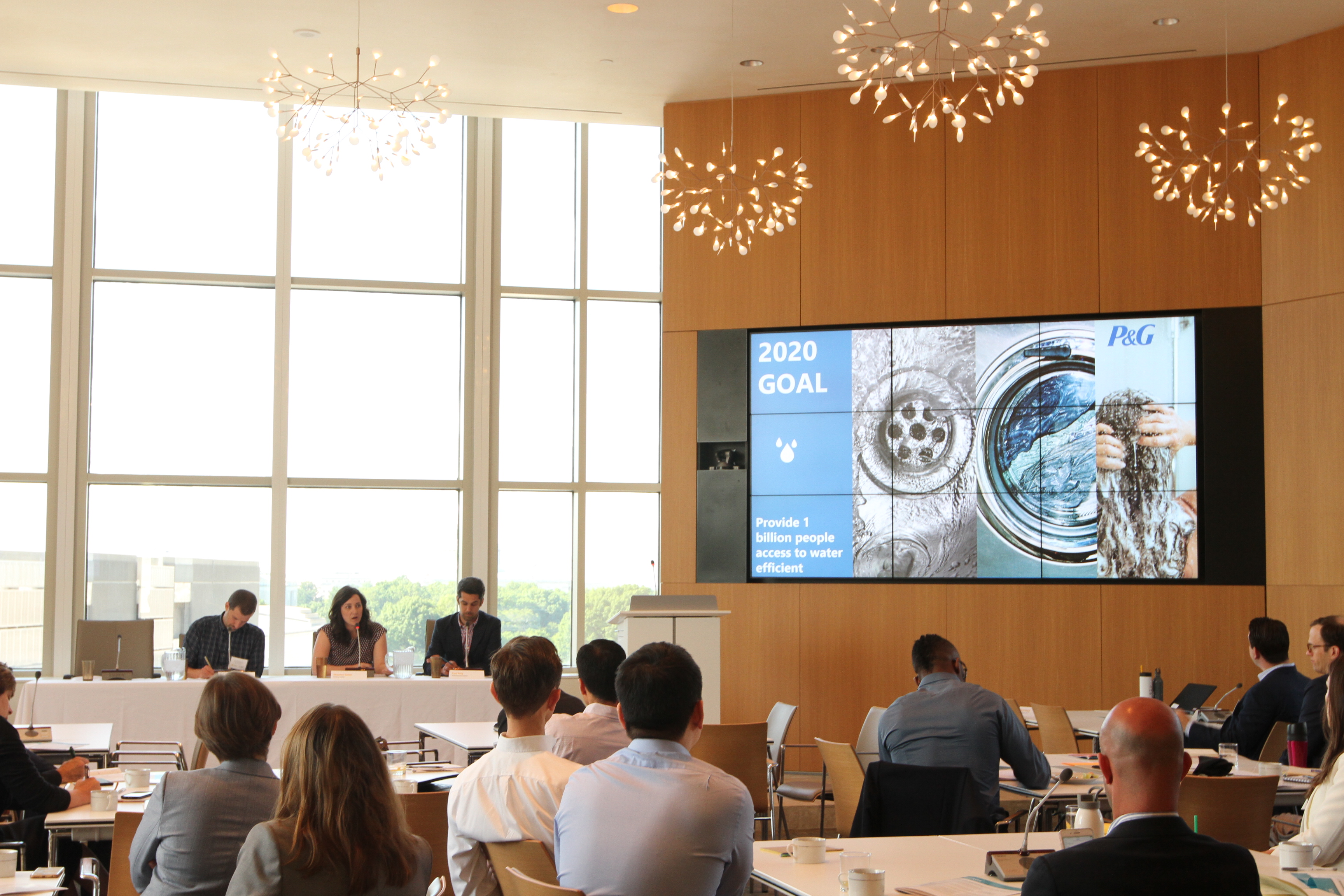 <p>WRI\'s corporate partners gather for MindShare 2017 to discuss sustainability trends.</p>