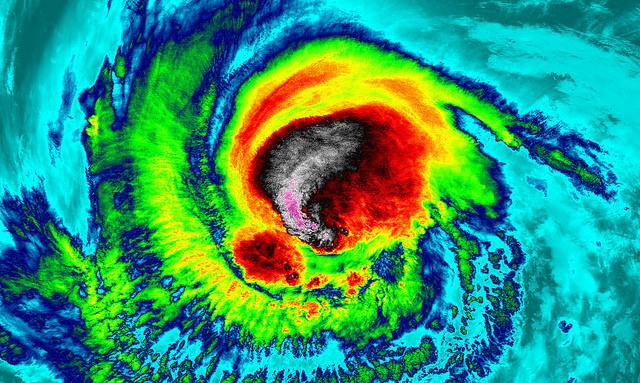 <p>NASA Image of Irma, a Category 5 Hurricane. Photo by UWM/SSEC/CIMSS, William Straka III</p>