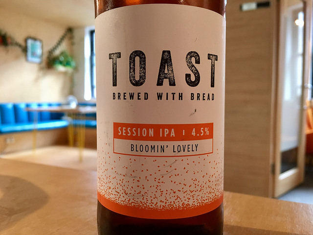 <p>Toast Ale is brewed with discarded bread. Photo by Jeremy Keith/Flickr</p>