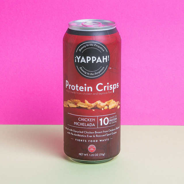 <p>Yappah Protein Crisps are made from leftovers like chicken trimmings and spent grain. Photo by Kurman Communications, Inc./Flickr</p>