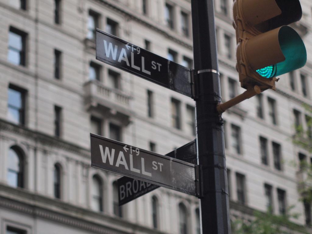 <p>Wall Street. Photo by Naoki Nakashima/Flickr</p>