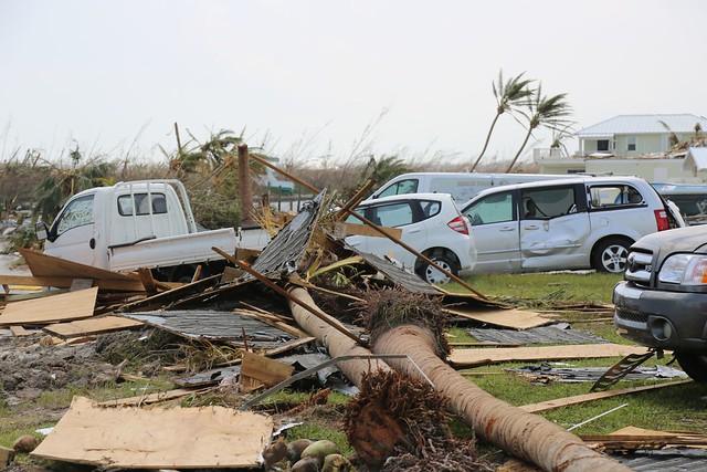 <p>Hurricane damage at Treasure Cay, Bahamas, September 4, 2019. Photo by Seaman Erik Villa Rodriguez/U.S. Coast Guard/Flickr</p>