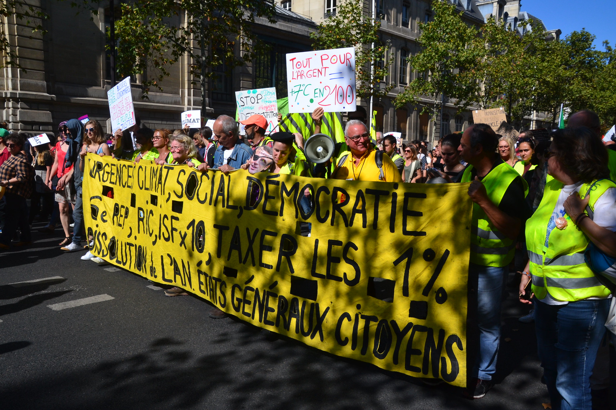 <p>The French Citizens\' Convention on Climate formed in response to popular demand. Photo by Jeanne Menjoulet/Flickr.</p>