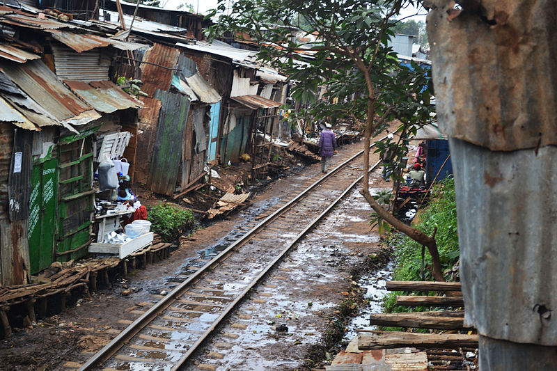 <p>Kibera, in Kenya's Nairobi County. Photo by Trocaire/Flickr</p>