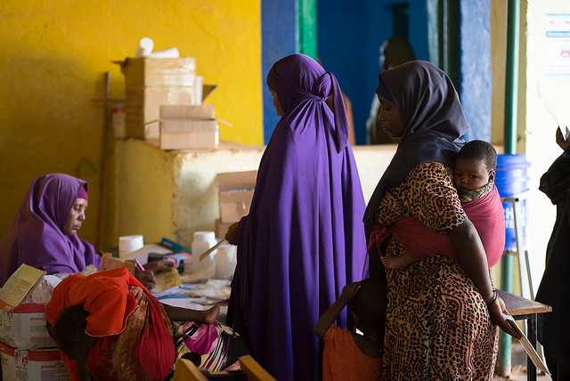 <p>Women's health center in south Somalia. Photo by A. Gichigi/Trócaire</p>