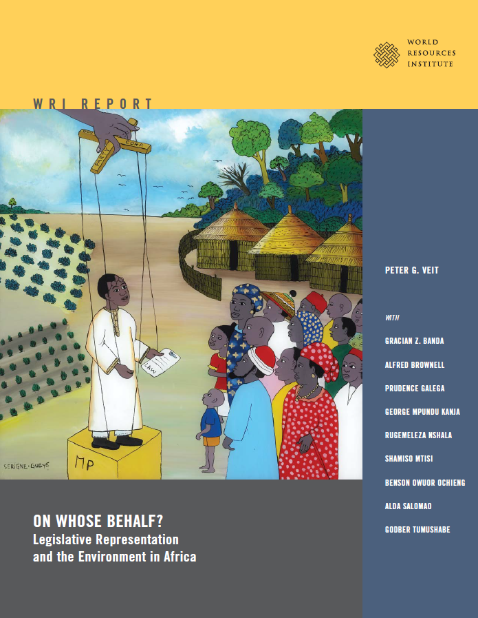 <p>For more information, download the full WRI report, On Whose Behalf? Legislative Representation and the Environment in Africa.</p>