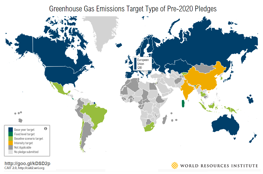 Tracking 2020 Climate Action Pledges on the Road to Paris | World ...