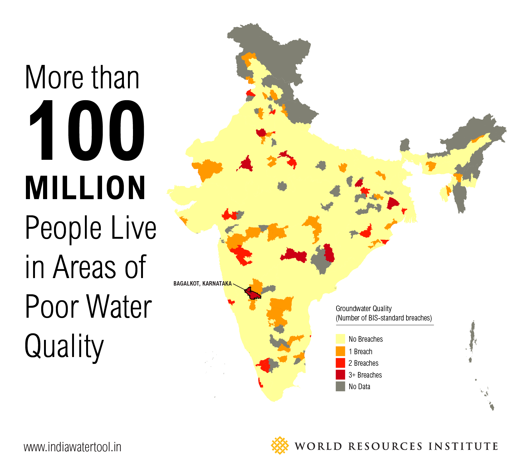 More Than 100 Million People Live In Areas Of Poor Water Quality