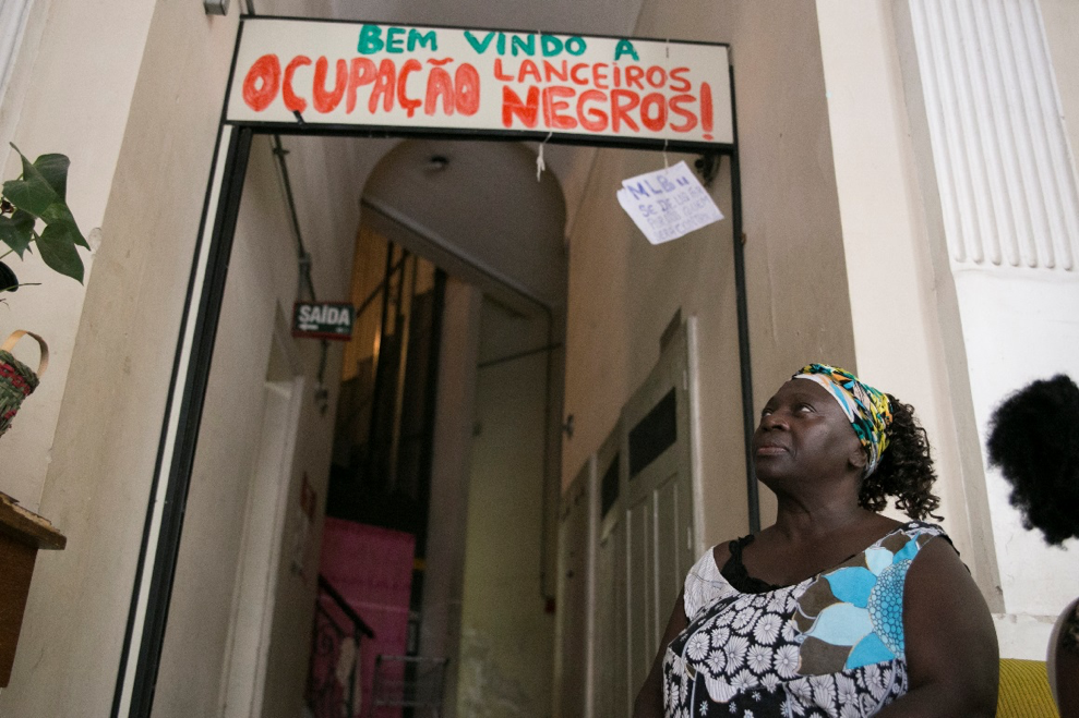 <p>Jussara near her home in Porto Alegre, Brazil. Photo by Fernanda Boscaini and Caroline Donatti/WRI Brasil</p>