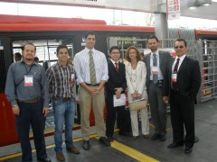 <p>CTS México Team at launching of Insurgentes Sur</p>
