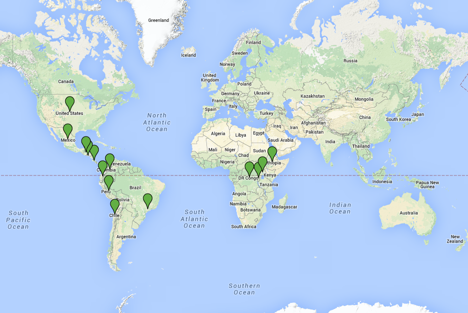 <p>This map shows countries that have made land restoration commitments to the Bonn Challenge.</p>