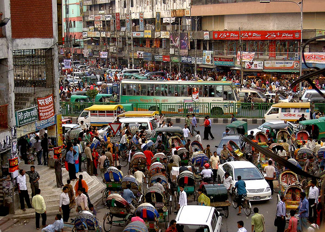 <p>Exploding growth in the developing world has created a vast new middle class, which could near five billion by 2030. Photo credit: Flickr/lepetitNicolas</p>