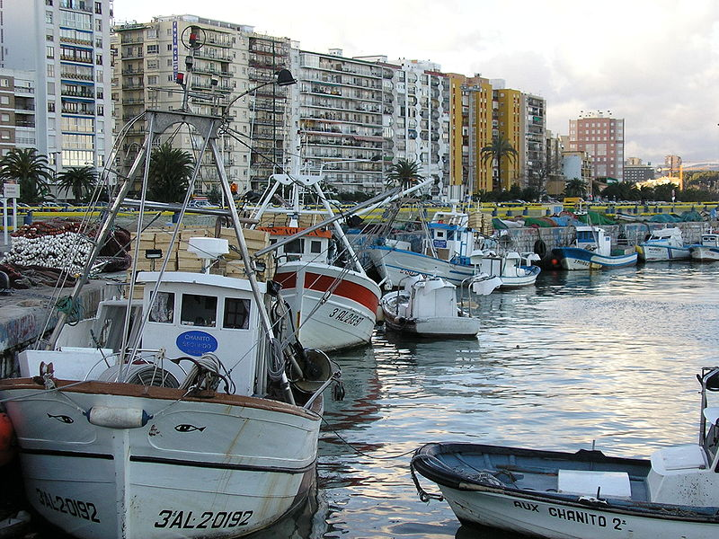 <p>Development in the City of Algeciras exerts tremendous pressure on the bay. Photo credit: Wikimedia/Falconaumanni</p>
