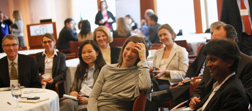 <p>Participants from 3M, Citi, Alcoa, Disney, PricewaterhouseCoopers, and Kimberly-Clark participated in a MindShare 2011 breakout session. Photo: WRI</p>