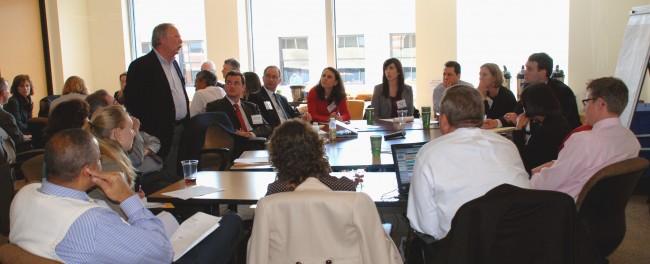 <p>The Corporate Consultative Group MindShare Meeting, November 2010. Photo credit: Walton Upchurch</p>