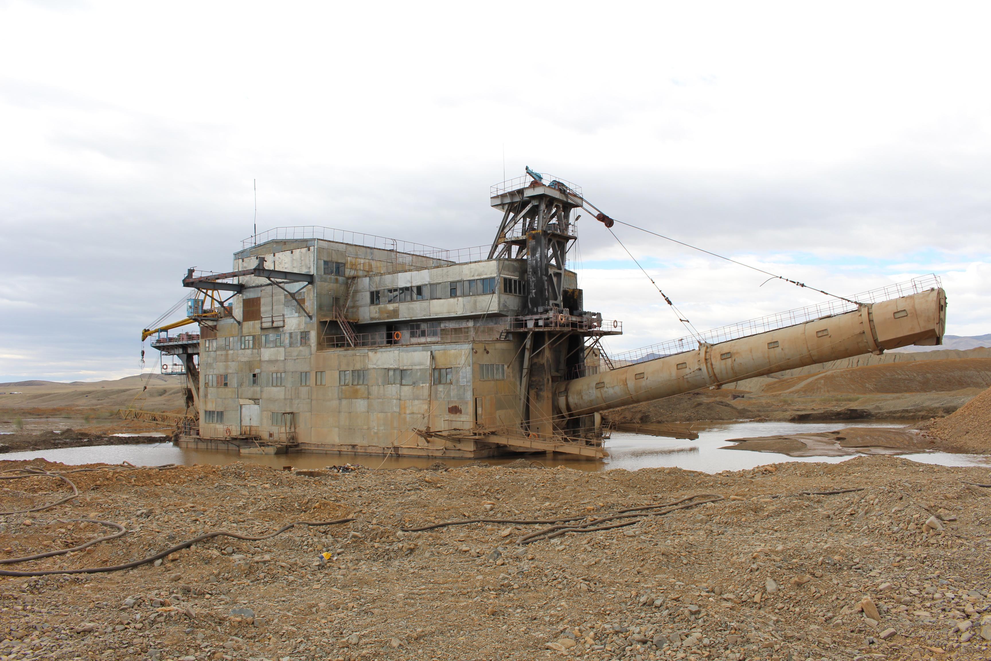 <p>Gold mining has contaminated Zaamar\'s water. Photo by Zolbayar Bayasgalan</p>