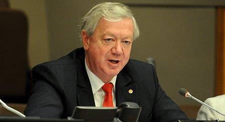 <p>Dr. Hans Hoogeveen, the Dutch Vice-Minister for Agriculture, called for the formation of Champions 12.3 in September 2015 during the UN General Assembly. Photo by IISD/ENB</p>