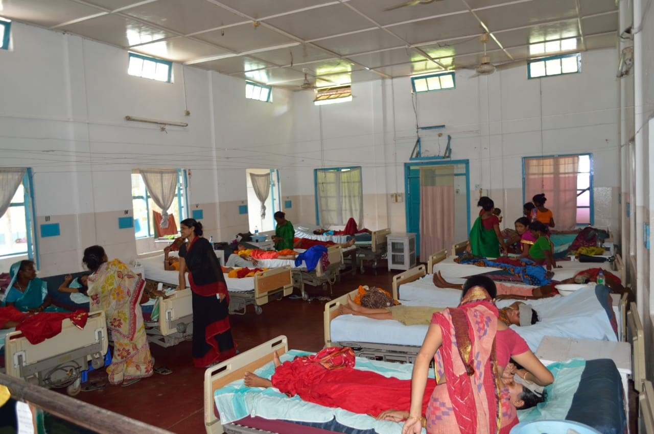 <p>The general ward at EHA Hospital in Alipur, India. Photo by EHA Hospital</p>