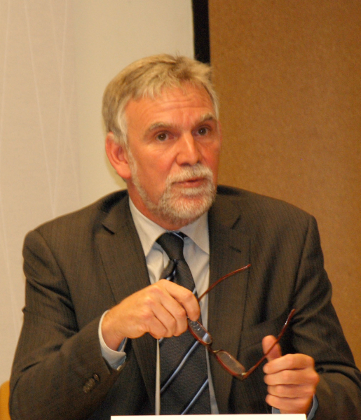 <p>Jochen Flasbarth, President of the German Federal Environment Agency, Umweltbundesamt (UBA). Photo: Kathy Doucette, WRI</p>