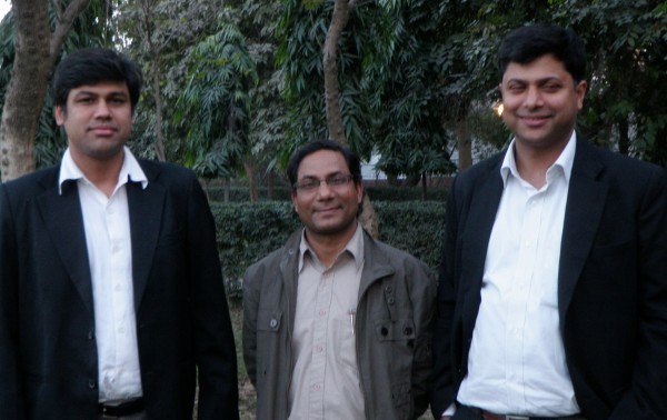 <p>LIFE Attorneys Rahul Chaudhary, Promod Kumar, and Ritwick Dutta</p>
