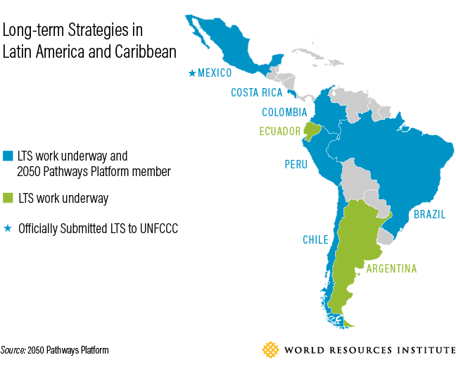 "<p>The 2050 Pathways Platform tracks progress on long-term emissions-reduction strategies, or ""LTS."" Data from the 2050 Pathways Platform</p>"