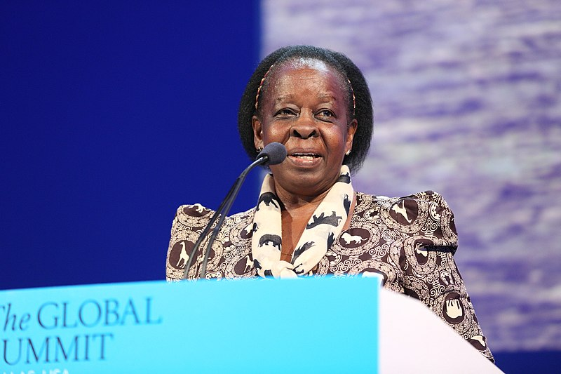 <p>Maria Mutagamba was a leader in gender strategies for the water sector. Flickr/World Travel & Tourism Council</p>