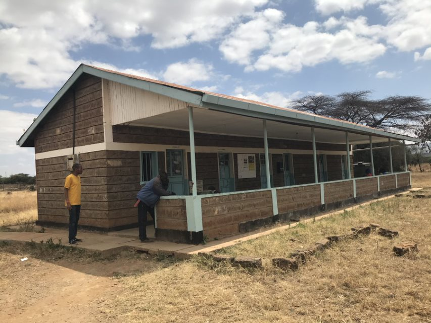 <p>Kenya's Najile health clinic. Photo by Esther Kahinga/WRI</p>