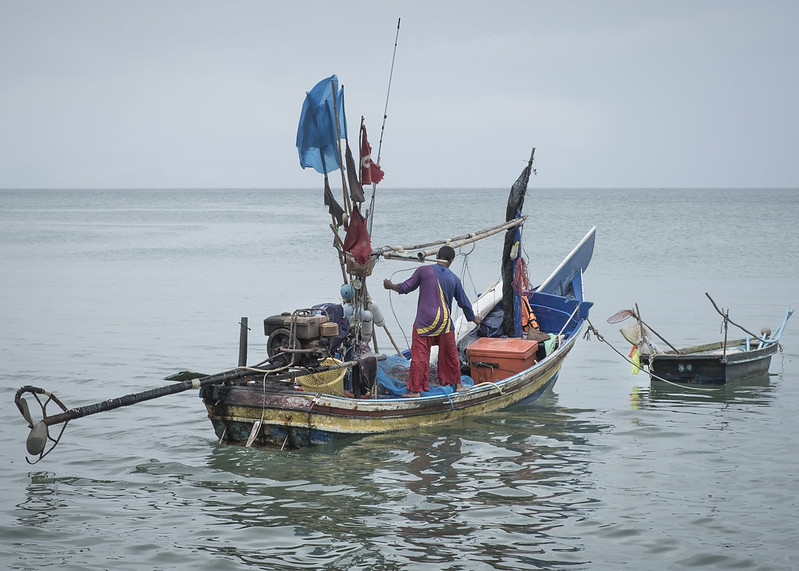 <p>Mariners are essential to society, yet often work in challenging situations and have limited communication with those on land. Photo by Chris Bird/Flickr</p>