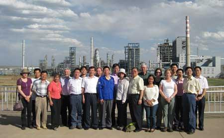 CCS team at Shenhua Plant in Ordos