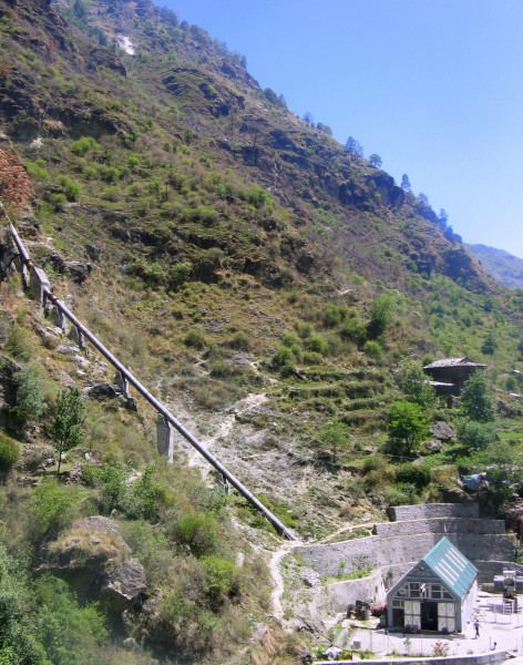 <p>SBA Hydro\'s other power plant in nearby Sainj provides 1MW of renewable energy. Photo credit: Saurabh Lall</p>