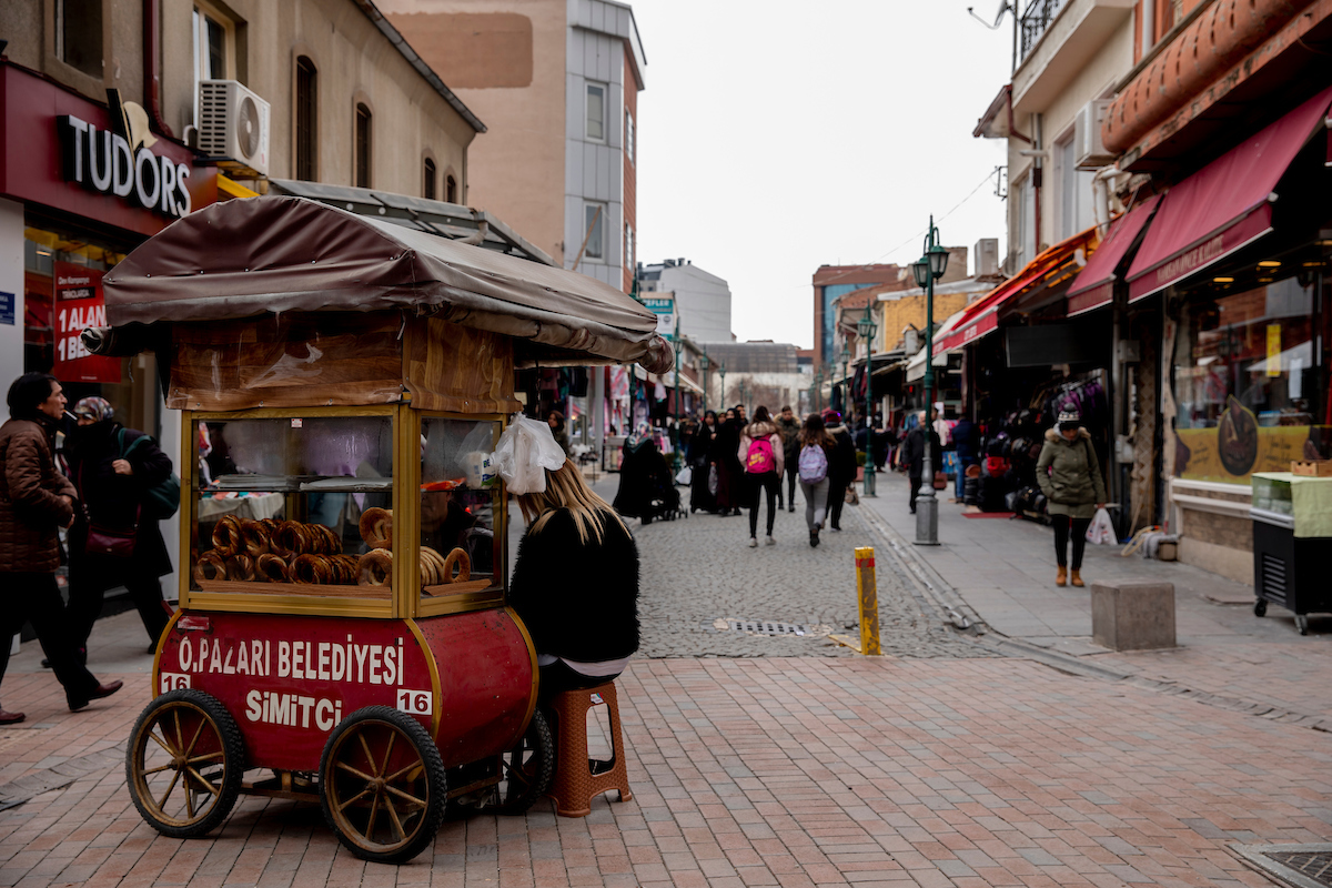 <p>In Eskişehir, Turkey, innovations like car-free pedestrian streets have resulted in economic, social and environmental gains — as well as overwhelming civic pride. Photo by Kyle LaFerriere</p>