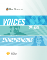 <p>Download WRI\'s new report, Voices of the Entrepreneurs</p>